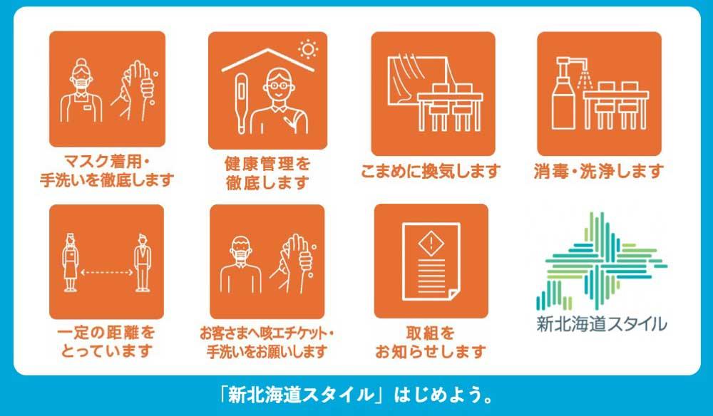 新北海道スタイルを始めよう。