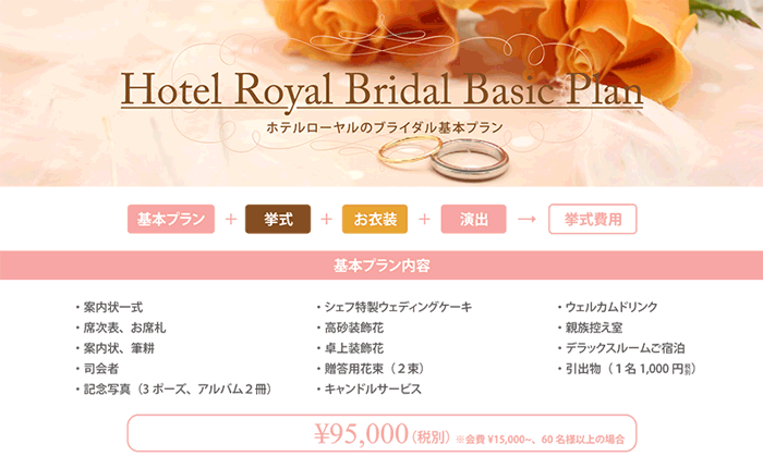 Bridal Basic Plan